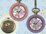 ディズニープリンセス プレミアムリング型懐中時計