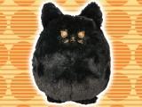 ネコのミュー ミニクッション (BLACK)